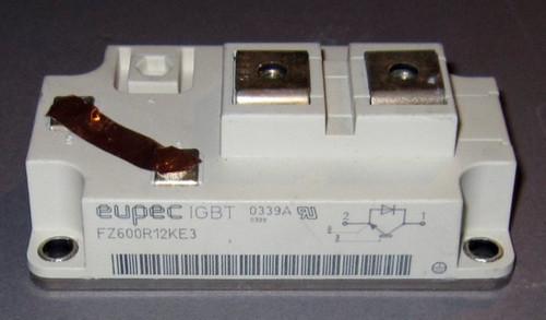 FZ600R12KE3 - 1200V 600A IGBT (Eupec) - Used