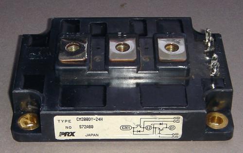 CM300DY-24H - 1200V 300A dual IGBT (Powerex) - Used