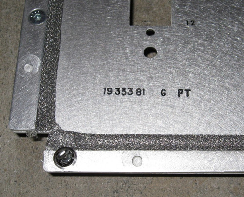 1936496-H (RFI) - Replacement Cover w/ fans for Modulator Assembly