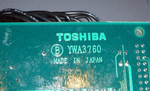 PX52-11890-E1 - MLC head circuit boards (Toshiba) - Used