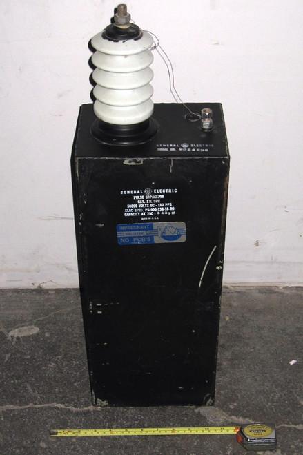 17L9PH - Pulse Capacitor - 50kVDC 0.043uF (General Electric) - Used