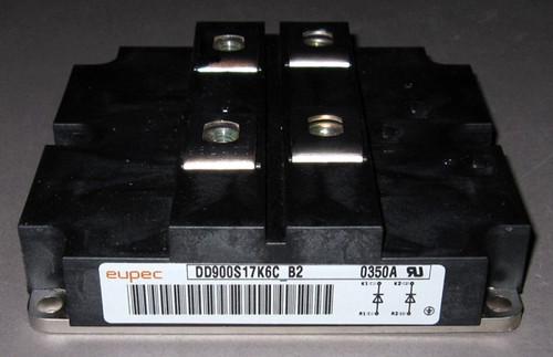 DD900S17K6C_B2 - 1700V 900A Fast Diode Module (Eupec)