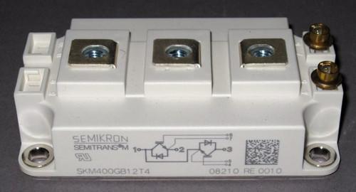 SKM400GB12T4 - 1200V dual IGBT (Semikron)