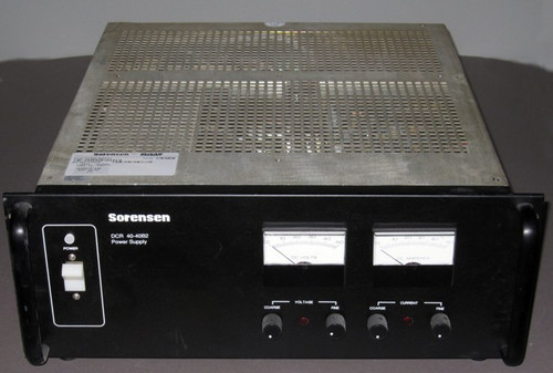 DCR40-40B2 / M61 - 40VDC 40A Programmable Power Supply (Sorensen) - Used
