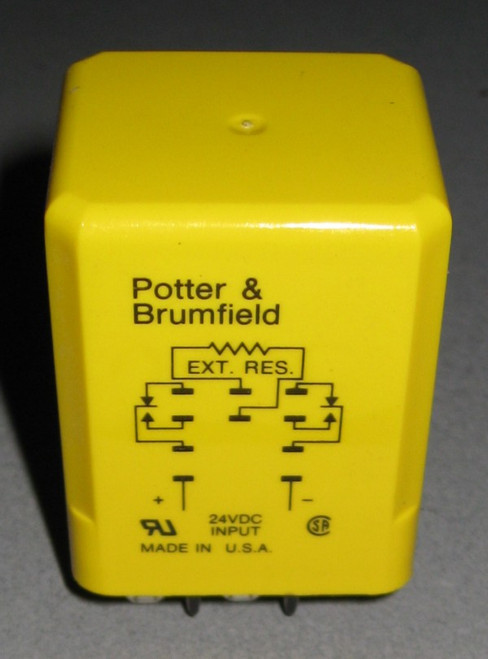 CUH-41-30120 - Time Delay Relay (Potter and Brumfield) - Used