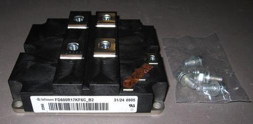FD600R17KF6C-B2 - 1700V 600A IGBT / diode chopper module (Infineon/Eupec)  - New/RFE