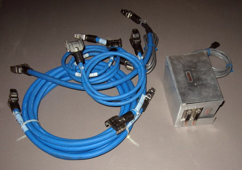 Servo motor wires and testing box (Siemens) - Used