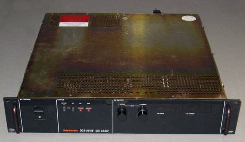 DCS55-55-M16 - 55VDC 55A Programmable Power Supply (Sorensen) - Used