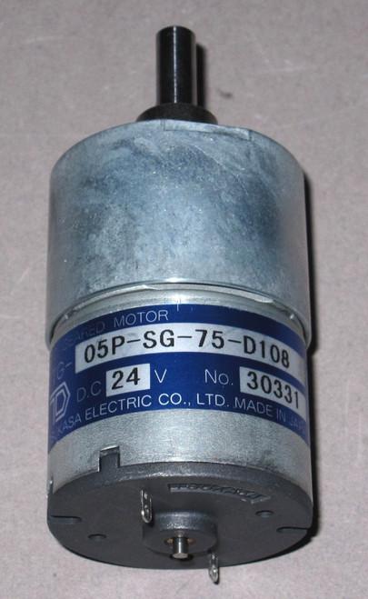 TG-05P-SG-75-D108 - DC Motor (Tsukasa)