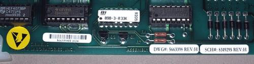 8319295 Rev H - DWG 5663398 Rev. H. Circuit board (Siemens)