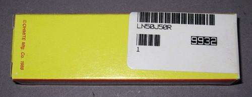 LN50J50R - Power Resistor, 50 Ohm, 50 Watt, +/- 5% (Ohmite)