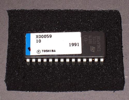 SX10-00059*J - PROM chip (Toshiba)