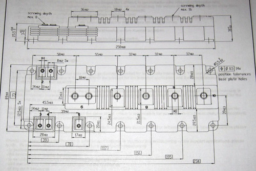 FF1400R12IP4 - 1200V 1400A dual IGBT (Infineon) - Discounted, see description