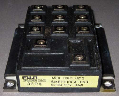 A50L-0001-0212 IGBT (Fanuc) - Also: 6MBI100FA-060 (Fuji) - Used