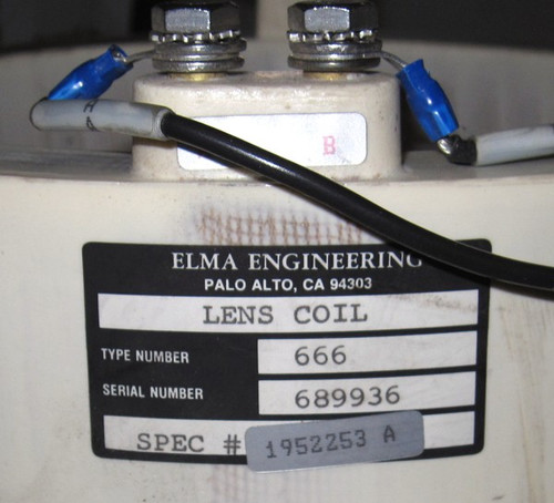 1952253 A - Lens coil (Elma Engineering) - Used