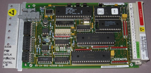 05862813 Rev. B - PC1 S33B Intlk Function Controller 6, Circuit board (Siemens)