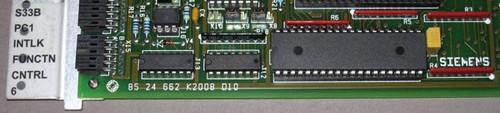 non-standard - 05862813 Rev. B - PC1 S33B Intlk Function Controller 6, Circuit board (Siemens) - Used