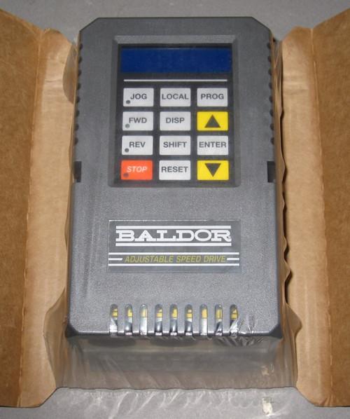 ID15J405-ER - 5HP PWM Inverter Motor Control / Adjustable Speed Drive (Baldor)
