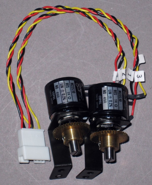 PX51-23006 - Replacement Potentiometers and Connectors for MLC-20A (Toshiba)