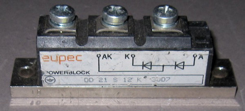 DD21S12K - Fast Diode (Eupec) - Used