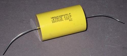 MMWA20P47K-F - 2000VDC 0.47uF Capacitor (Cornell Dubilier)