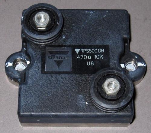 RPS500DH - 470-Ohm 500W Power Resistor (Vishay / SFernice) - Used