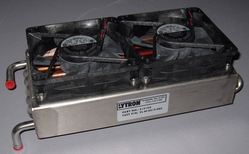 4121 G4 - Lytron Stainless Steel / Copper Fin Heat Exchanger with 24VDC Fans