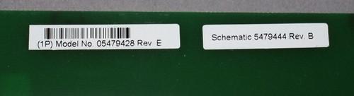 05479428 Rev E - DC Power Circuit board (Siemens) - Used