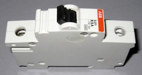 S271K3A - Circuit Breaker 3A 240VAC 1POLE (ABB)