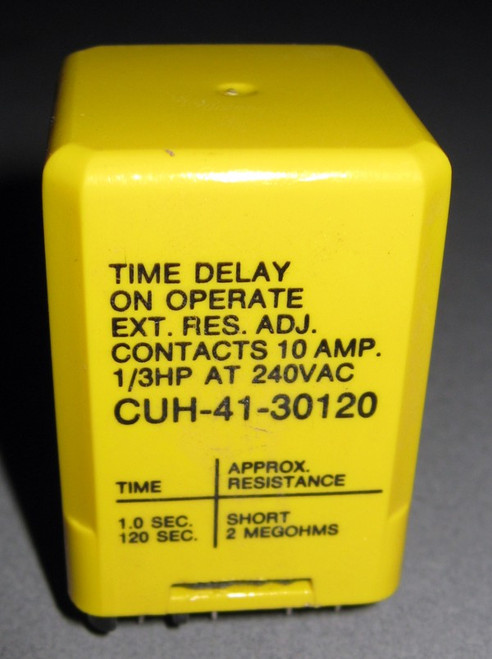 CUH-41-30120 - Time Delay Relay (Potter and Brumfield)