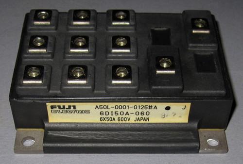 A50L-0001-0125#A (Fanuc) - Also: 6DI50A-060 (Fuji) - Transistor - Used
