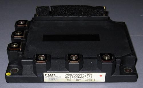 A50L-0001-0304 (Fanuc) - Also: 6MBP50RA060-01 (Fuji) - IGBT-IPM - Used