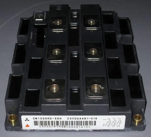 CM1200HD-50H - 2500V 1200A High-Voltage IGBT (Mitsubishi) - Used