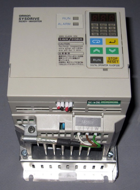 3G3EV-AB004R-E - SYSDRIVE Inverter (Omron) - Used