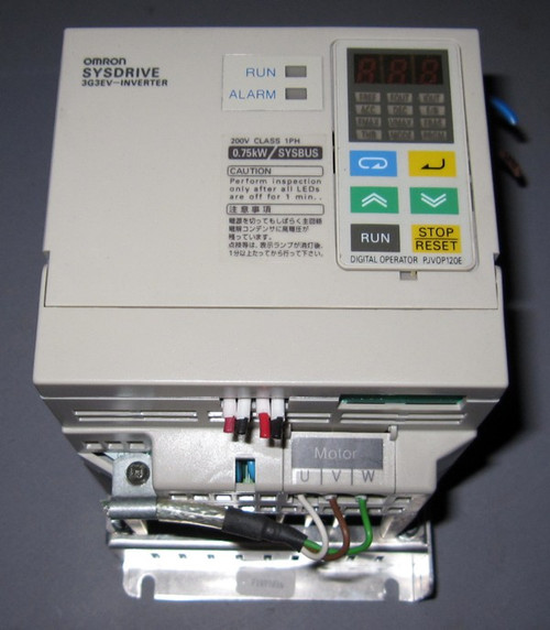 3G3EV-AB007R-E - SYSDRIVE Inverter (Omron) - Used