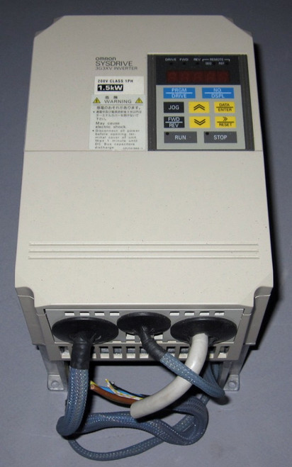 3G3XV-AB015-CE - SYSDRIVE Inverter (Omron) - Used