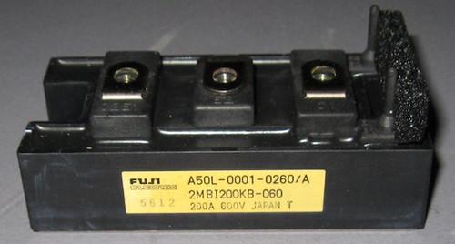 A50L-0001-0260/A (Fanuc) - Also: 2MBI200KB-060 (Fuji) - IGBT - Used