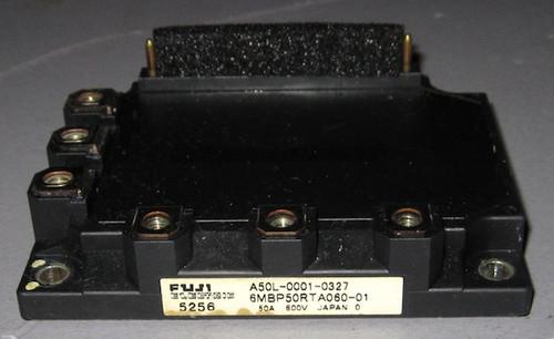 A50L-0001-0327 (Fanuc) - Also: 6MBP50RTA060-01 (Fuji) - IGBT-IPM - Used