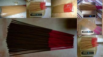 5 grams sample of each Cambodian, Vietnamese, Malaysia, Indonesia, Kalimantan & Burma, Kyara Agarwood/Aloeswood incense sticks