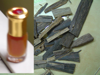 Indian OUD Aloeswood / Agarwood oil 3cc