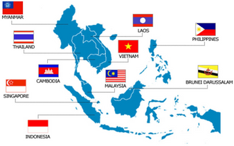 DHL to Asean countries for weight lower than 500grams ) Indonesia, Malaysia, the Philippines, Thailand, Brunei, Cambodia, Laos, Myanmar (Burma) and Vietnam