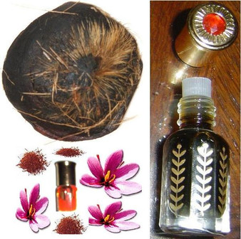 Zaffran/Saffron with Wild deer musk oil - non-alcoholic(12cc) fragrance oil