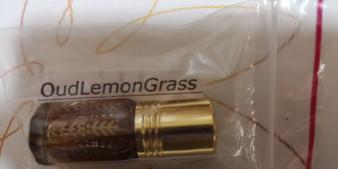 OudLemonGrass perfume oil (6cc)