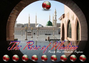 Rose of Madinah 12cc (Non Alcoholic Attar)