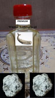 Premium Whitish AMBERGRIS oil-non alcoholic (12cc) (new batch 19112019)