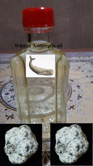 Whitish AMBERGRIS oil fragrance-non alcoholic (12cc)