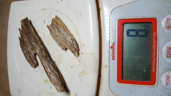 Agarwood/Aloeswood Oud chips, Golden Triangle 8 grams.