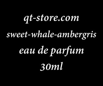 Sale: 30 ml of Sweet Whale Ambergis eau de parfum