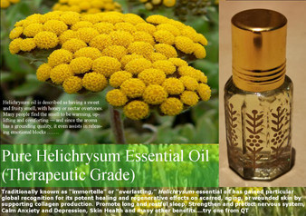 Pure Helichrysum Essential Oil (Therapeutic Grade) 6ml/grams
