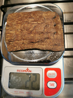 Agarwood/Aloeswood Oud chips, Burma 1 piece 22 grams